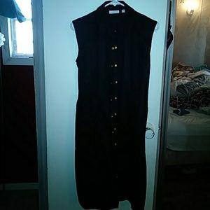 New York & Company Black dress size M